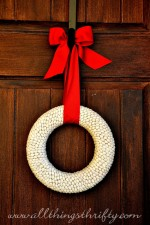 Tutorial: Lima Bean Wreath