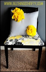 TUTORIAL: Felt Flower Pillow