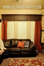 Super cute window valance idea!