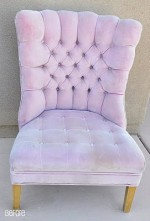 Pink Chair is almost finished!
