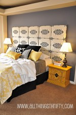 Headboard featured at HGTV.com!