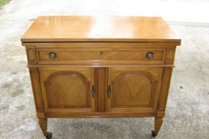 Feature Friday! Buffet to Vanity, a fun dresser, and a headboard transformation.