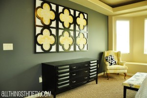 quatrefoil+wall+art