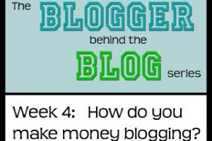 Blogging 101: How to make money blogging.