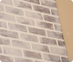 Tutorial: How to paint brick to make it look old