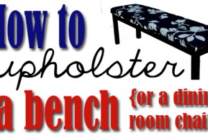 how-to-upholster-a-bench