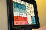 Huge Calendar for those of us who keep missing appointments {surprise giveaway from my Sis}