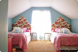 Girl's room ideas {Makeover reveal #1}
