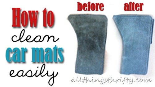 How to clean floor mats in your car