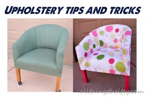 Quick Upholstery Tips and Tricks for YOU!