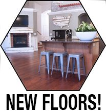 new wood flooring reveal