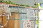 Wire basket chandelier tutorial {FINALLY!}