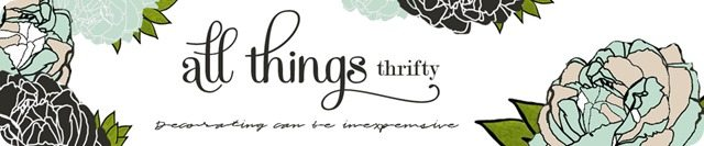 All Things Thrifty Home Decor and Accessories Header new