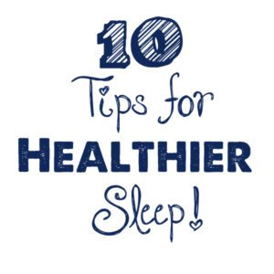 Tips for a better sleep