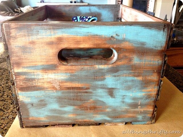 - How To Antique Wood {with Paint And Stain} All Things Thrifty