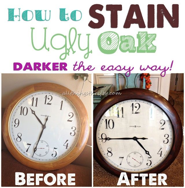 Beau How To Stain Oak Darker Easily