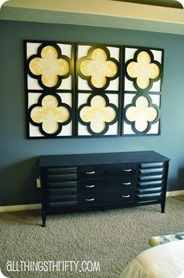 Quatrefoil decor