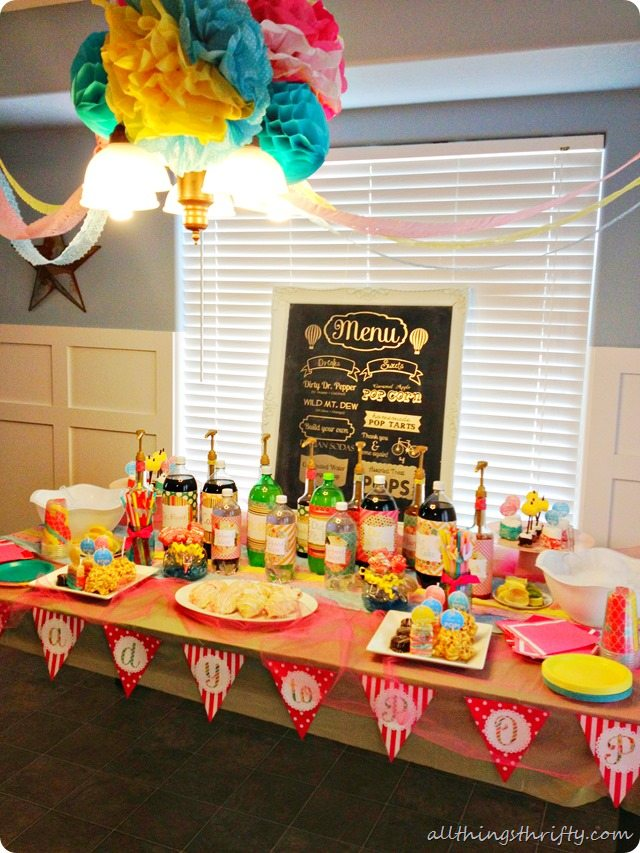 Ready To Pop Baby Shower All Things Thrifty
