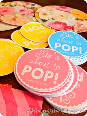 Exceptional About To Pop Baby Shower Ideas 1