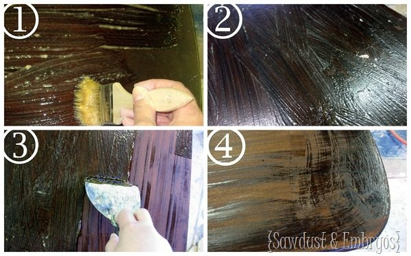 Stripping Furniture {Sawdust and Embryos}