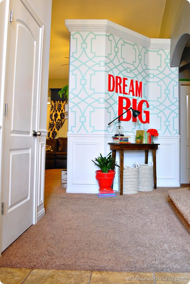 all-things-thrifty-entryway-decor-makeover