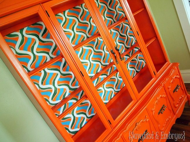 China Cabinet Rescue {Sawdust and Embryos}