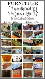 The 'Furniture Whisperers'... a Gallery of Before and Afters by SAWDUST AND EMBRYOS!-001