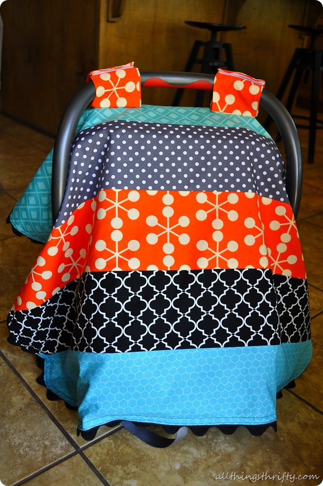 Baby Boy Car Seat Canopy Instructions All Things Thrifty