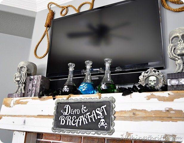 halloween-mantle-decoration-ideas