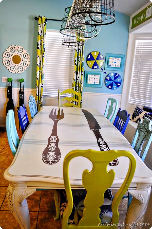 how-to-paint-dining-room-table