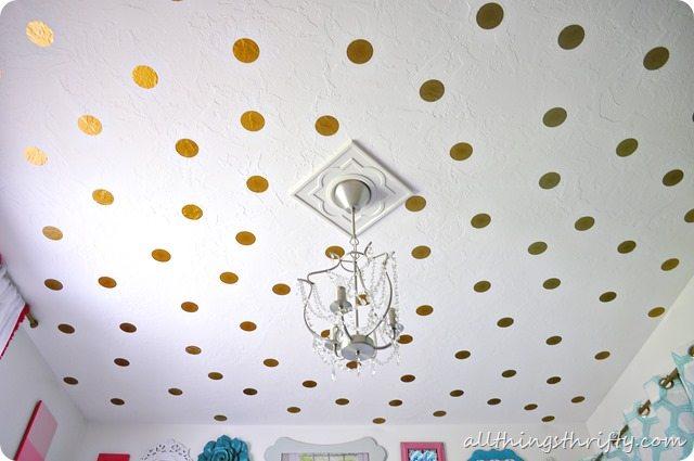 polka-dot-ceiling