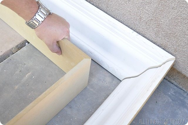 tv frame instructions molding diy