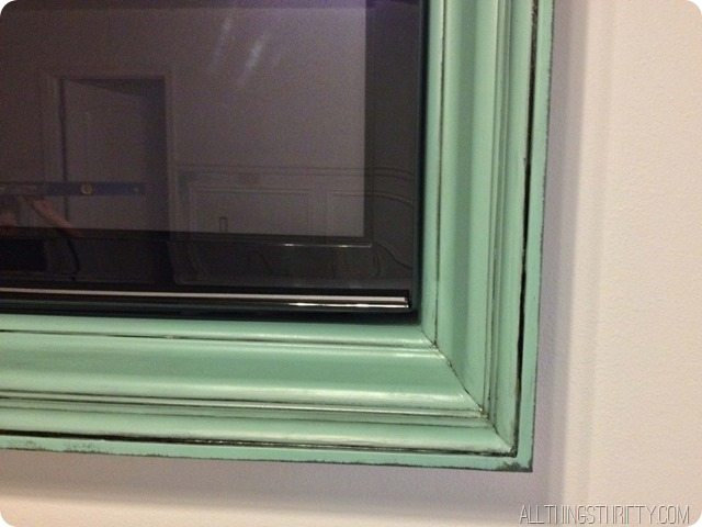 glazed tv frame