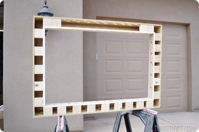 how to make a tv frame yourself