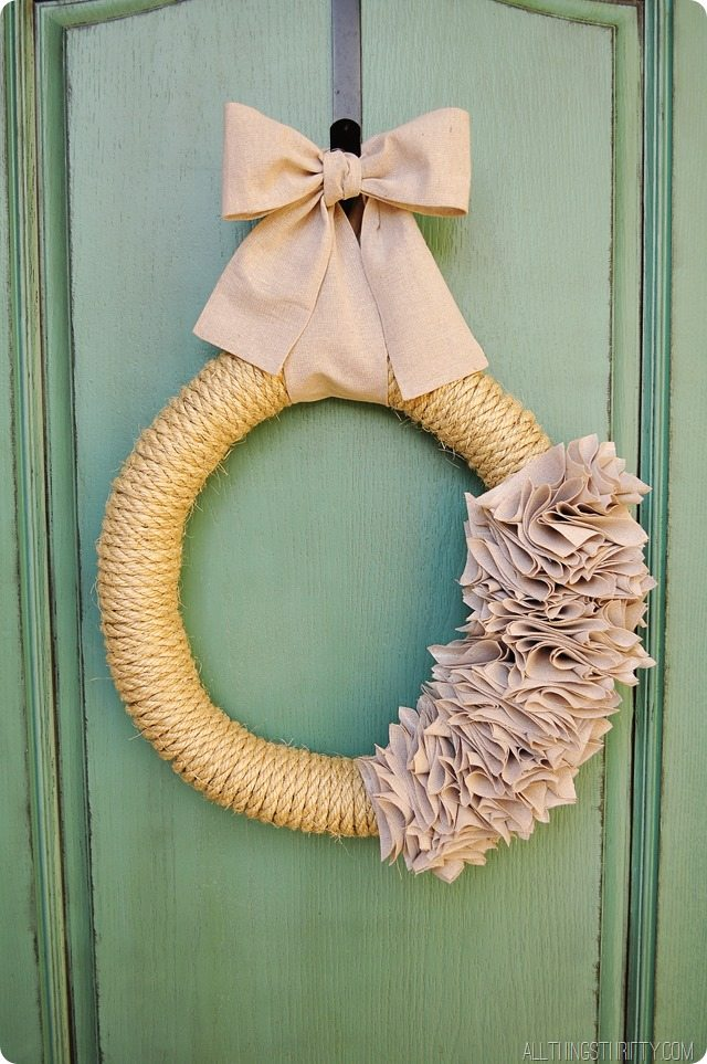 how-to-make-an-inexpensive-wreath