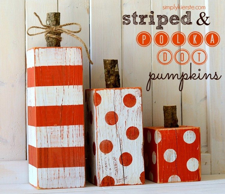 striped-polka-dot-pumpkins