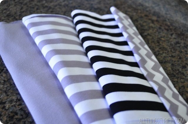 jersey fabric headband tutorial