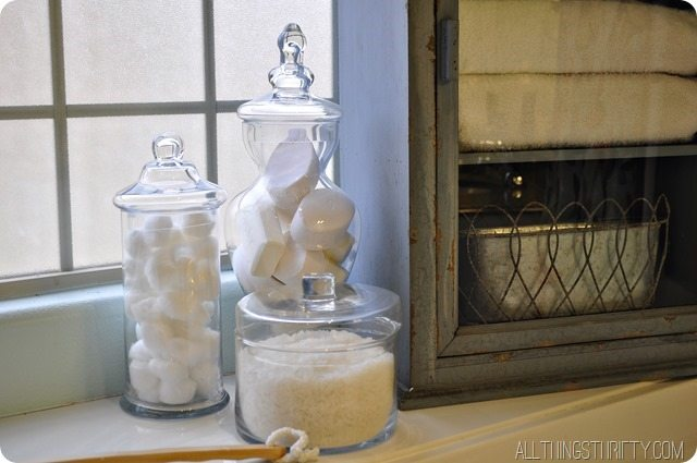 Master bathroom makeover for Bathroom decor home goods
