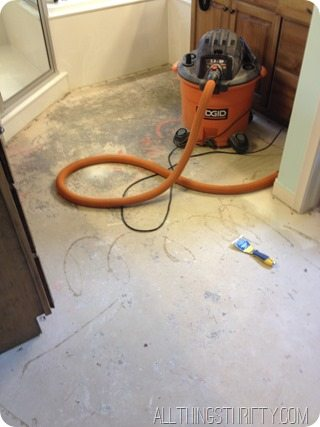 tearing out carpet (3)