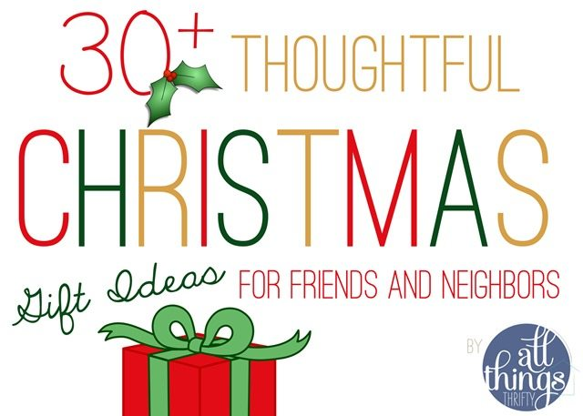 Inexpensive and Thoughtful Gift ideas for Friends and Family ...