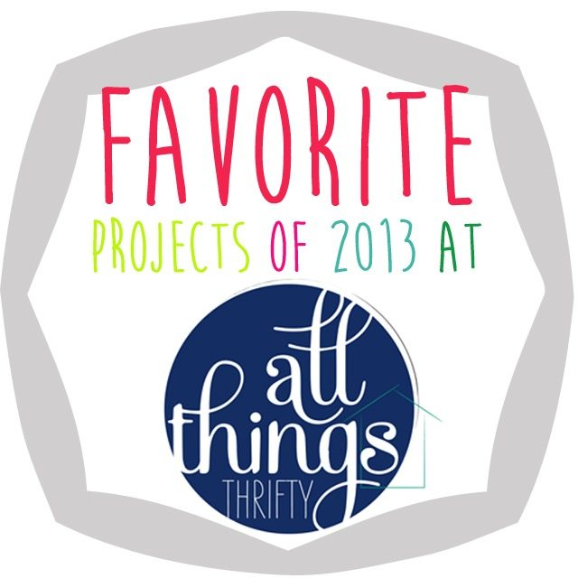all things thrifty 2013 project wrap up