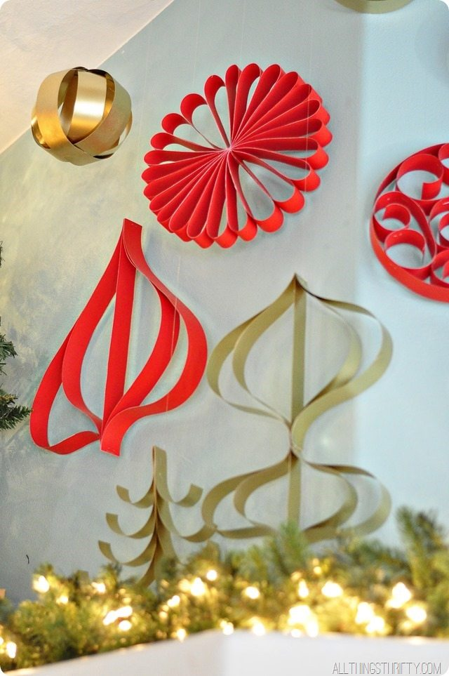 Christmas decorations to make with children out of paper for Christmas decoration things