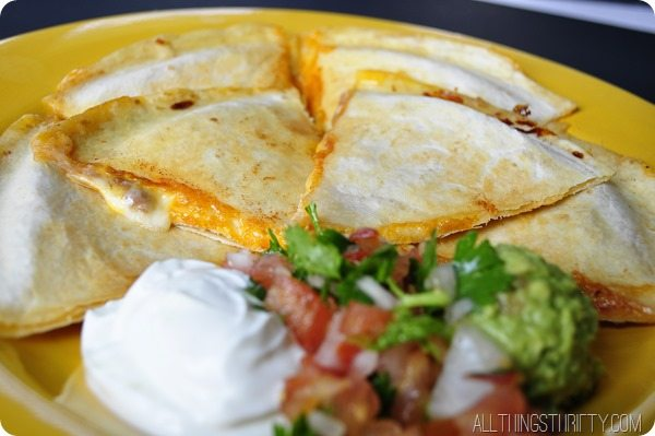 cheese chicken quesadilla recipe