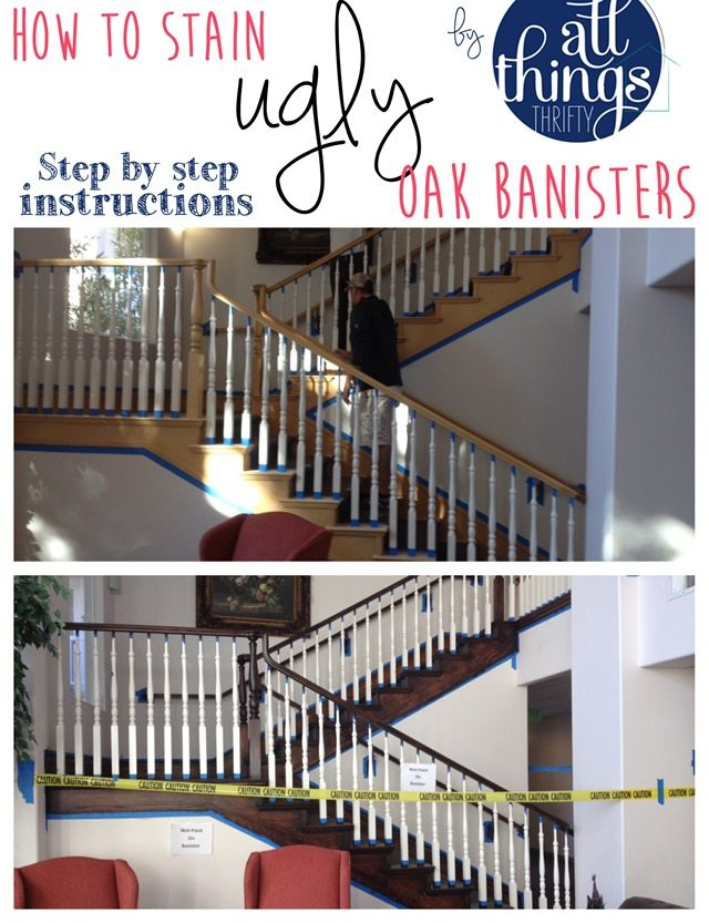 How To Stain An Oak Banister Dark