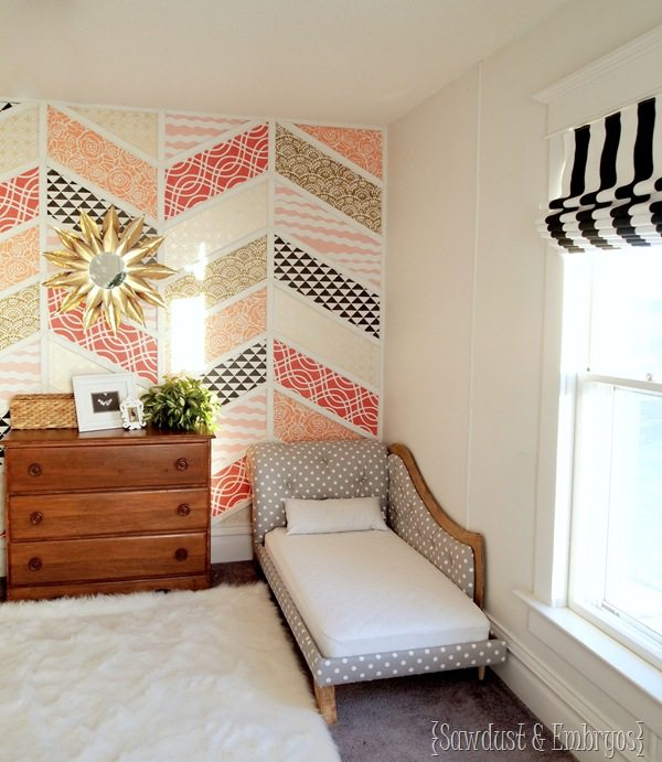 Twins' Room Transformation! {DIY Roman Shade Tutorial} by Sawdust and Embryos