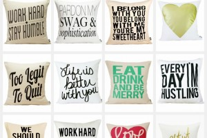 Throw Pillows to Liven up your Space! {Surprise Giveaway!}