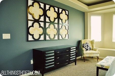 quatrefoil wall art