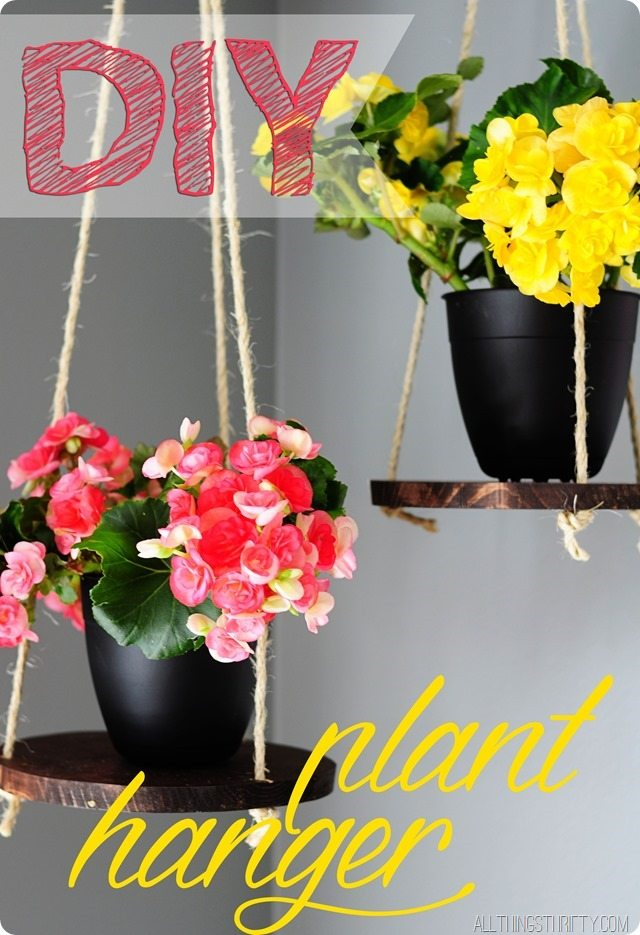 DIY-flower-hanger