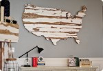 United States Barn Wood Map