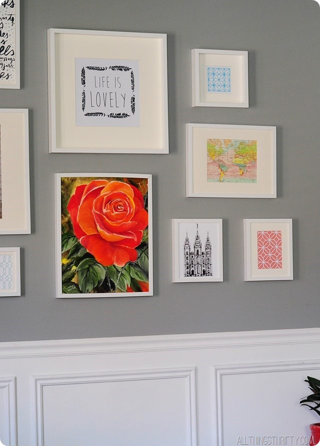 living-room-gallery-wall-ikea-frames